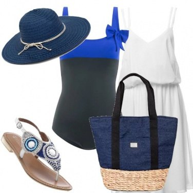 Outfit Costume con fiocco