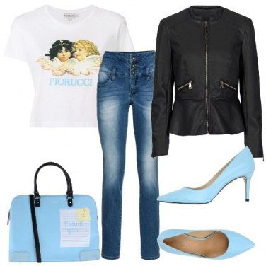 Outfit Fiorucci is back