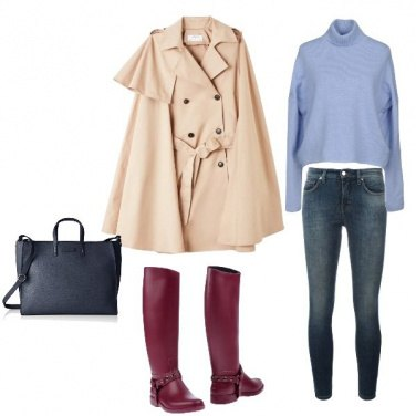 Outfit Il trench inglese