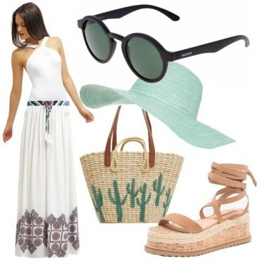 Outfit Romantic on the beach