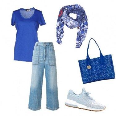 Outfit Accessorio blu