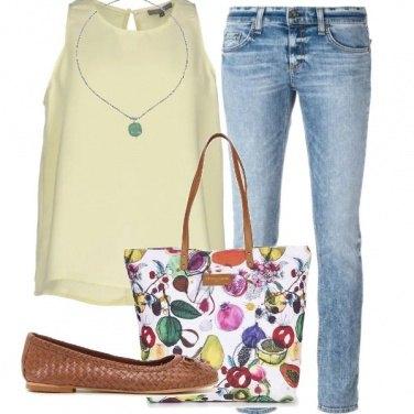 Outfit Frutta sulla borsa