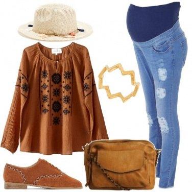 Outfit Mamma boho