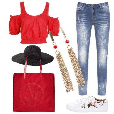 Outfit Vado a fare shopping