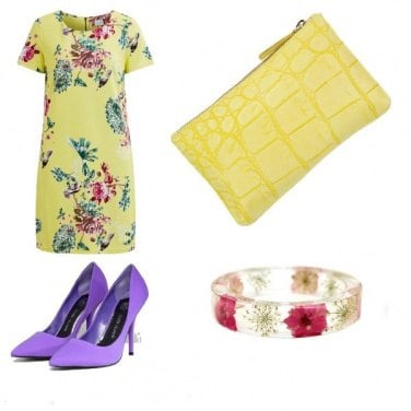 Outfit Colorfully chic