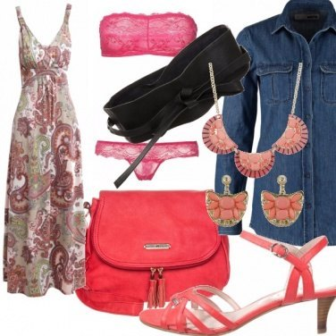 Outfit Jeans and pink