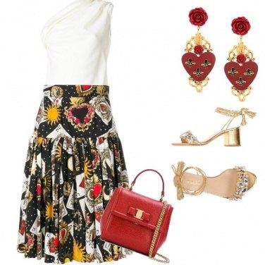 Outfit Regina di cuori