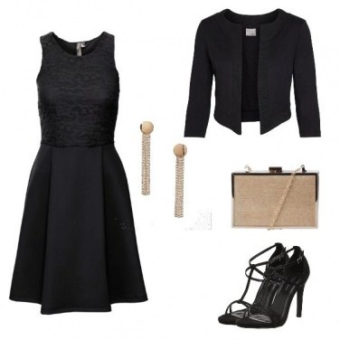 Outfit Black \'n gold