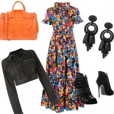 Outfit Fiori a passeggio