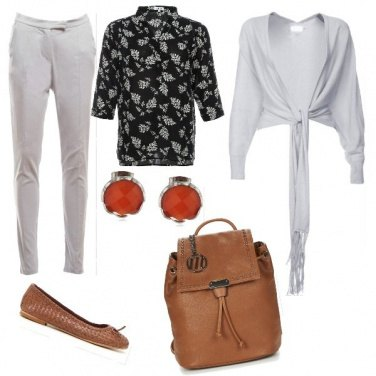 Outfit Rigore in cuoio