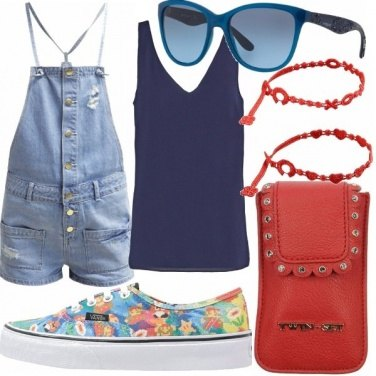 Outfit Tutina jeans