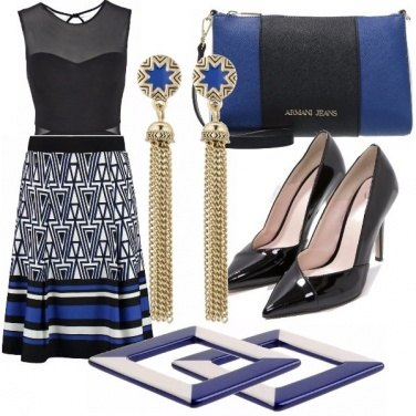 Outfit Note blu!