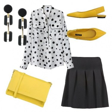 Outfit Dalmata chic