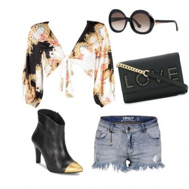 Outfit Glamour al concerto