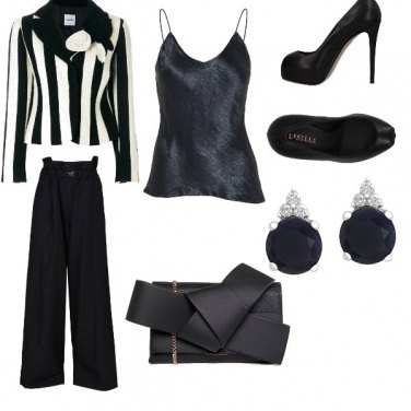 Outfit Nero di sera