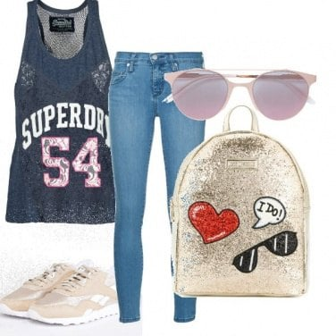 Outfit Sportiva ma chic