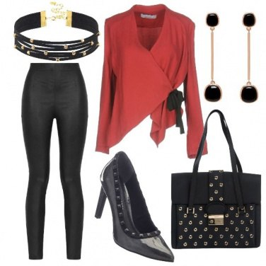 Outfit Chic con grinta