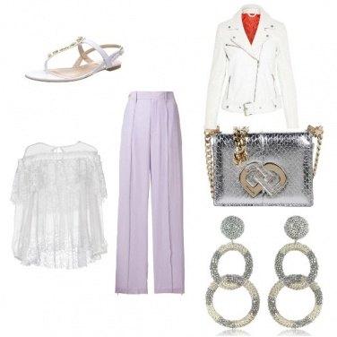 Outfit Mamma con eleganza