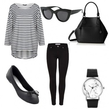 Outfit A righe