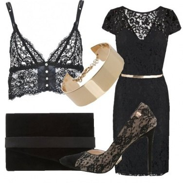 Outfit Adorabile pizzo