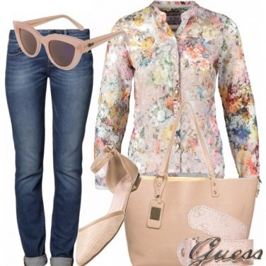 Outfit Romantici jeans
