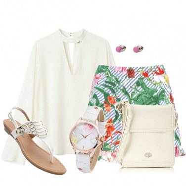 Outfit Short floral
