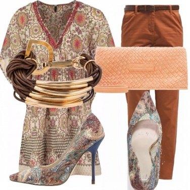 Outfit Contrasti di colori