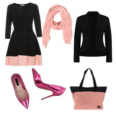 Outfit Glamour fucsia