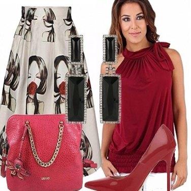 Outfit Elegante con pochi accessori!