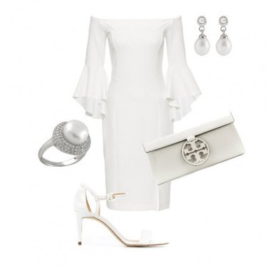 Outfit White queen