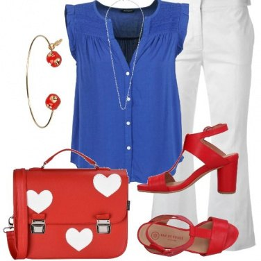 Outfit Bandiera francese