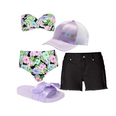 Outfit Flowers in the sea