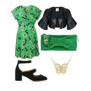 Outfit Forever green