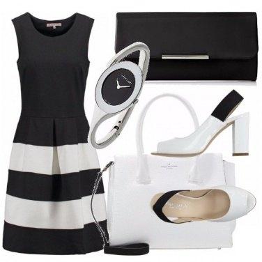 Outfit Nero e bianco: binomio perfetto
