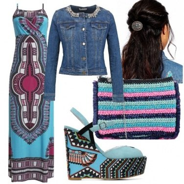 Outfit Ethnic chic