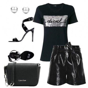 Outfit La tua serata total black