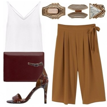 Outfit Aperitivo glam