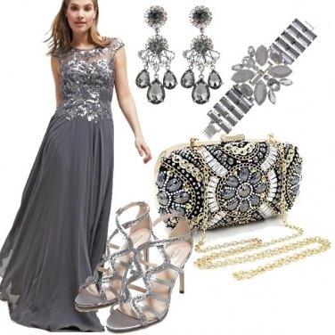 Outfit Elegantemente in grigio