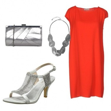 Outfit Rosso di sera 2