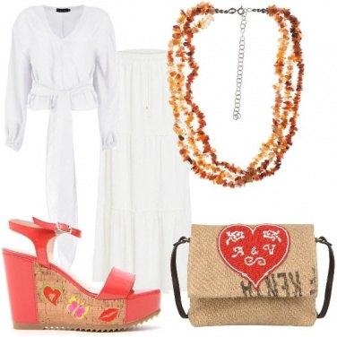 Outfit Coachella in White