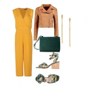 Outfit I toni dell\'ocra