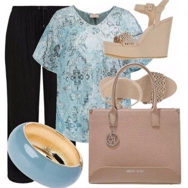 Outfit Curvy blu