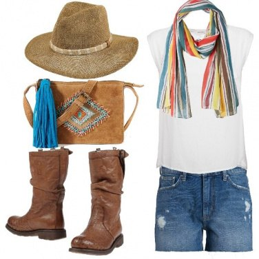 Outfit Coachella lover