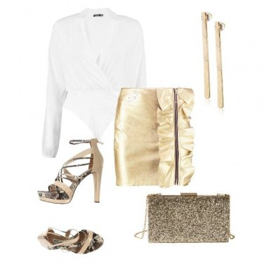 Outfit Gold elements