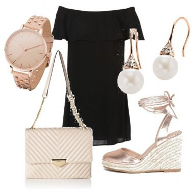 Outfit Mini dress maxi glam