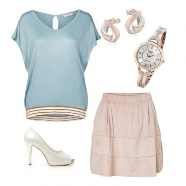 Outfit Dolce Rosa