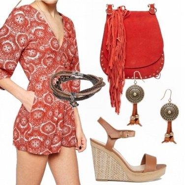 Outfit Tuta etnica