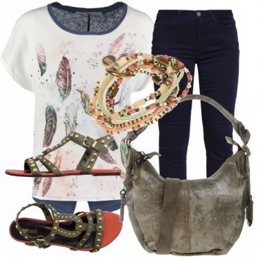 Outfit Bohemian chic