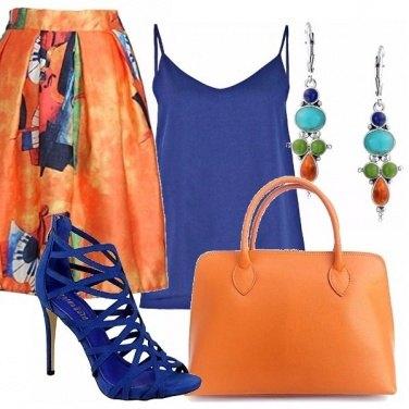 Outfit Un pieno di colore