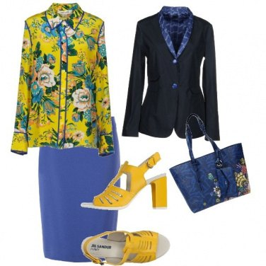 Outfit Nonna chic